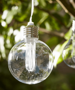 Solar Vintage String Light Bulbs